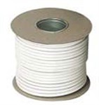 0.75mm 3 Core White Flexible Cable - 50mt Roll