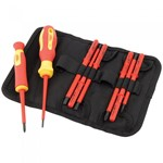 10 Piece Interchangeable VDE Screwdriver Set
