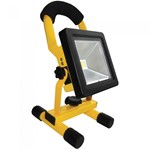 10W COB LED Rechargeable Portable Worklight Site Floodlight
