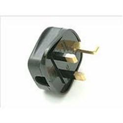 13 Amp Black Tough Plastic Plug