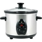 1.5lt Stainless Steel Slow Cooker - E821SS