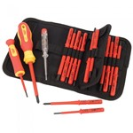 18 Piece Interchangeable VDE Screwdriver Set