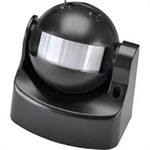 180 Degree Outdoor PIR Sensor - Black