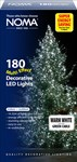 180 Multi Action Warm White Christmas Lights