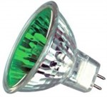 20W 12V Green GX5.3 Halogen bulb M269