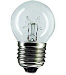 25w Clear 45mm ES Ball lamp