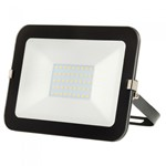 30W LED Slimline Floodlight -BLACK