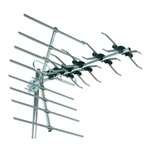 32 Element Digital Outdoor TV Freeview Wideband Aerial Antenna Kit