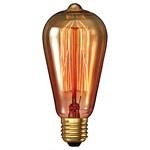 Bell 40W ES Rustic Amber Carbon Filament Lamp