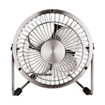 4 inch Chrome Mini Portable Fan