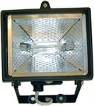 400 Watt Black Halogen Enclosed Floodlight