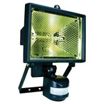 400 Watt Black PIR Motion Detector Floodlight
