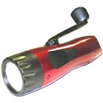 5 LED USB & Wind Up Dynamo Torch