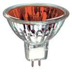 50W 12V Red GX5.3 Halogen bulb M258