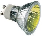 50W Amber GU10 Halogen bulb