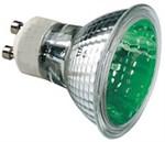 50W Green GU10 Halogen bulb