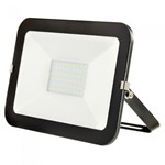 50W LED Slimline Floodlight - BLACK