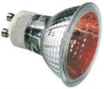 50W Red GU10 Halogen bulb