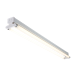 5ft Twin 58W High Frequency Fluorescent Fitting