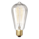 Bell 60W ES Clear Squirrel Cage Lamp