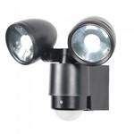 6W LED Twin Spot Floodlight with PIR IP44