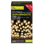 720 Multi-Function Supabrights LED Festive Lights - Warm White