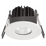 8W COB Firerated Downlight Dimmable - 3000K Warm White