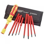 9 Piece Ergo Plus Torque VDE Screwdriver Set