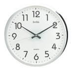 Acctim 320mm Chrome Wall Clock