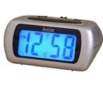 Acctim Auric silver Alarm Clock - 12340