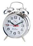 Acctim Chrome Twin Bell Alarm Clock