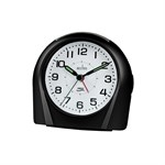 Acctim Europa Black Alarm Clock - 14113