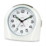 Acctim Europa White Alarm Clock - 14112