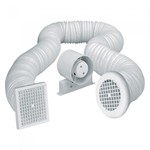 Airvent 4 inch In-Line Shower Fan Kit - IP44