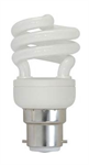Bell - 20W BC Spiral Daylight Energy Saving Light Bulb 6500k