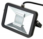 Deltech Slimline LED Floodlight 10W Black Body - Daylight