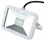 Deltech Slimline LED Floodlight 10W White Body - Daylight