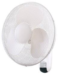 Draper 75098 Wall Mounted Fan & Remote