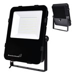 Dual Voltage REX 150W LED Slim Floodlight with Photocell