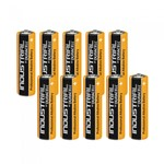 Duracell MN1500 Plus Power AA Size Batteries - Pack of 10