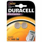 Duracell CR2032 Button Battery - Pack of 2