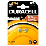 Duracell LR44 Button Battery (pack 2)