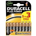 Duracell Ultra Batteries 5+3 AAA - MN2400