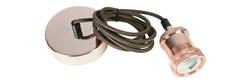 E27 Pendant Cord Set Bright Copper