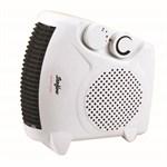 Stirflow White Fan Heater with Two Heat Settings