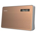 Goodmans Canvas Portable DAB Radio Copper
