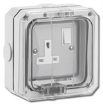 Greenbrook 13A Single Switched Outdoor Socket IP66