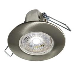 Halers H2 Lite LED Downlight Brushed Steel 4000k Cool White