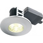 Halers H2 Pro 550T Dimmable Mains LED Downlight with Terminal Block - Warm White 60 Degree