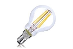 Integral 4W Non Dimmable SES Clear LED Filament Golf Ball Lamp - Warm White